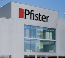 Le positionnement de Pfister dans les mtiers de lameublement