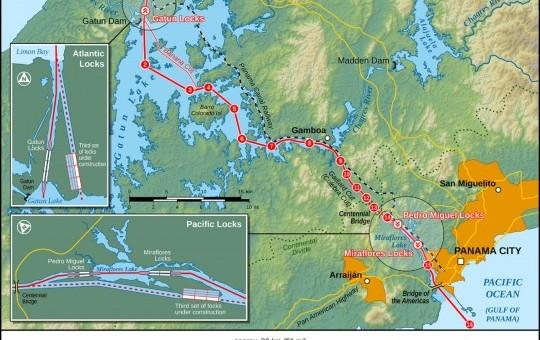 Le canal de Panama : 7ème merveille du monde moderne