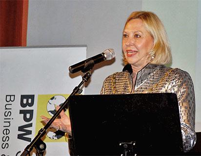 BPW International, Mrs. Liz Benham, President