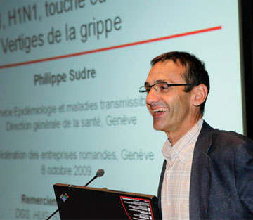 Philippe Sudre, Médecin Cantonal