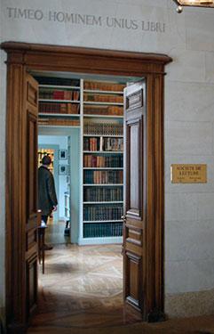 Société de lecture, Genève
