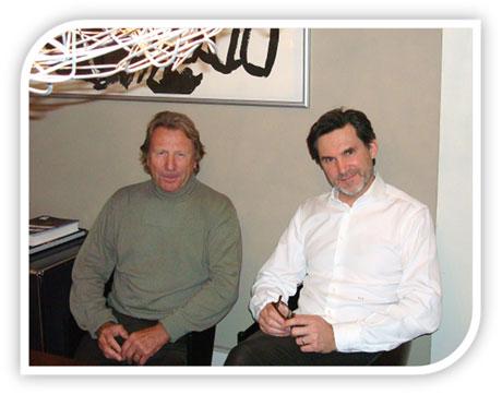 Georges Badan et Pascal Desboeufs