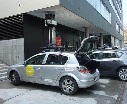 Voiture de Google Street View