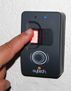 lecteur biometrique Oytech