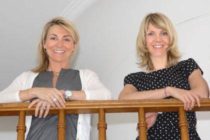 Isabelle Costes et Julie Besson