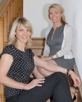Julie Besson et Isabelle Costes