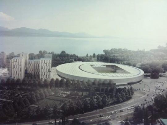 M tamorphose lausanne stade et piscine olympique for O bureau lausanne