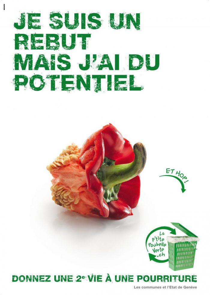 Poivron; compost; recyclage