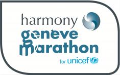official log of Harmony Geneve marathon for Unicef