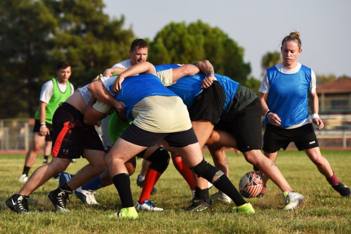 Incirlik Airmen build resilience with new rugby team