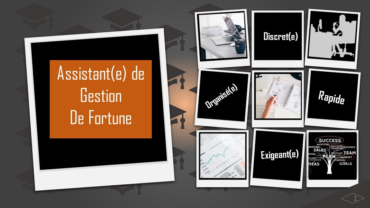 assistant gestion fortune