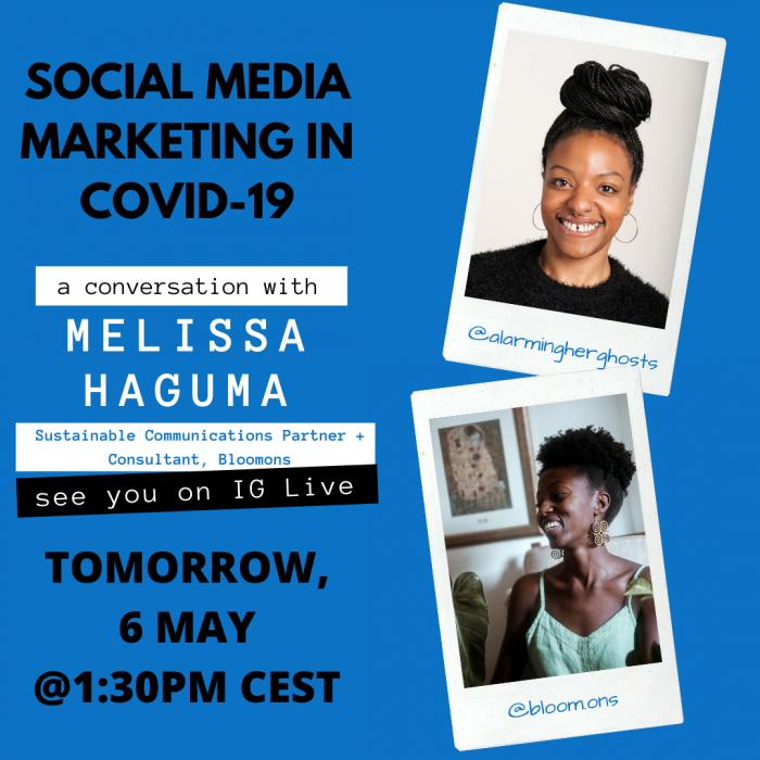 Social media in covid-19 a conversation with Melissa Haguma