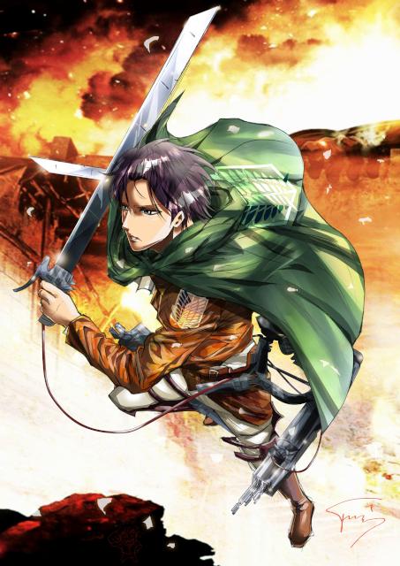 Levi (Attack On Titan)