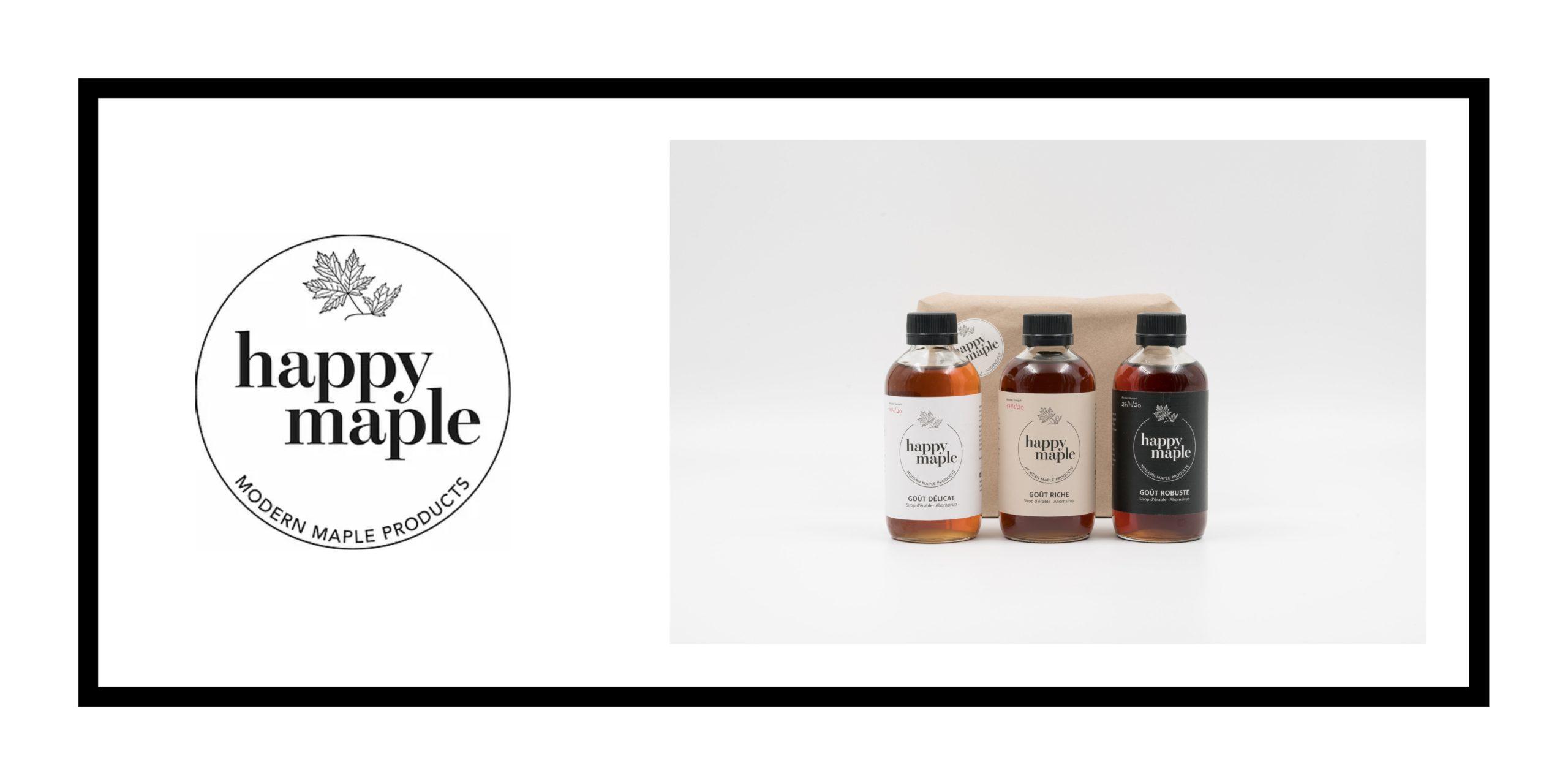 happy maple packaging