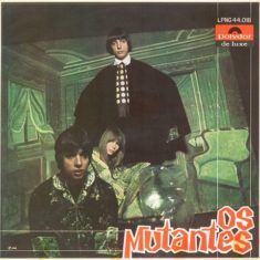 Based in the city of São Paulo, the rock band Os Mutantes – composed by Arnaldo Matos, Rita Lee and Sérgio Dias – were invited by Gilberto Gil to play with him live on TV, in 1967. In 1968 their first album came out, which would make them one of the biggest names within the brazilian rock vanguard.